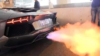 getlinkyoutube.com-The BEST LAMBORGHINI AVENTADOR Engine SOUNDS Ever!!