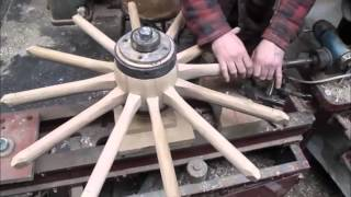 wooden wheel making .wheelwrights.