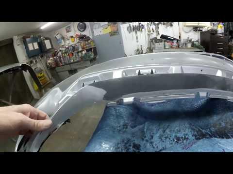 Lexus GS 350 - ремонт бамперов и реставрация фар часть 1.