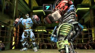 getlinkyoutube.com-Real Steel; Ambush vs Metro