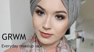 getlinkyoutube.com-GRWM Everyday makeup look Full Coverage