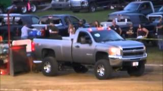 getlinkyoutube.com-STREET STOCK DIESEL TRUCKS AT THE FAYETTE COUNTY, INDIANA CONNERSVILLE FREE FAIR PULL AUG 2, 20154