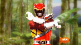 Power Rangers Dino Charge - Power Rangers Morph 6 with Roll Call