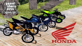 getlinkyoutube.com-Pack De Motos Argentinas:GTA San Andreas HONDA♥
