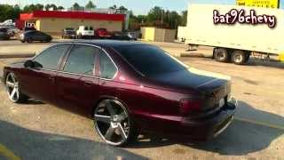 "DCM 1996 Impala SS on 24"" DUB Baller Wheels, FRESH paint job - 1080p HD"