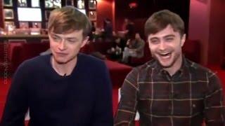 getlinkyoutube.com-Daniel Radcliffe & Dane DeHaan Real-Life Bromance!