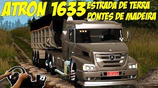 getlinkyoutube.com-ATRON 1635 NA CAÇAMBA - ESTRADA DE TERRA E PONTE DE MADEIRA!!!