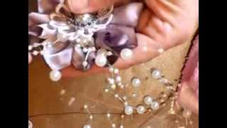 Stunning Handmade Satin Flower - jennings644