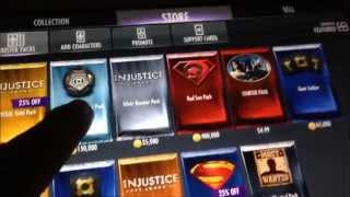getlinkyoutube.com-IOS Andriod Injustice Gods Among Us Glitch 2015! ipad no Cheat or Hack