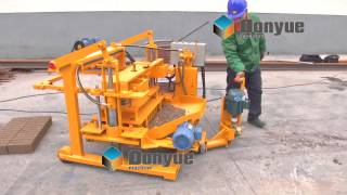 getlinkyoutube.com-China supply Movable Brick making machine QT40-3A from 21 years factory