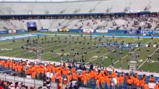 getlinkyoutube.com-Clay-Chalkville High School Band Halftime Performance August 22, 2015