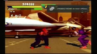 getlinkyoutube.com-Street Fighter EX Plus Alpha - Akuma Playthrough