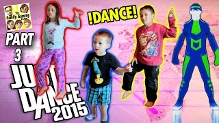 getlinkyoutube.com-FGTEEV Kids play Just Dance 2015! Who Has The Best Moves? (One Direction, Austin Mahone, Maroon 5)