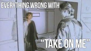 "getlinkyoutube.com-Everything Wrong With A-ha - ""Take On Me"""