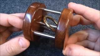 getlinkyoutube.com-Trapped ring puzzle/trick IMPOSSIBLE (not really)