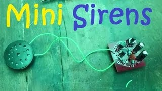 getlinkyoutube.com-How To Make a Mini Sirens