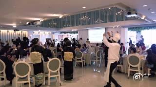 getlinkyoutube.com-フラッシュモブ サプライズ 結婚式披露宴 One Direction「Magic」 Flashmob Surprise