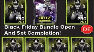 getlinkyoutube.com-MADDEN MOBILE 16 Black Friday Blitz Bundle and Mean Joe Greene Completion!