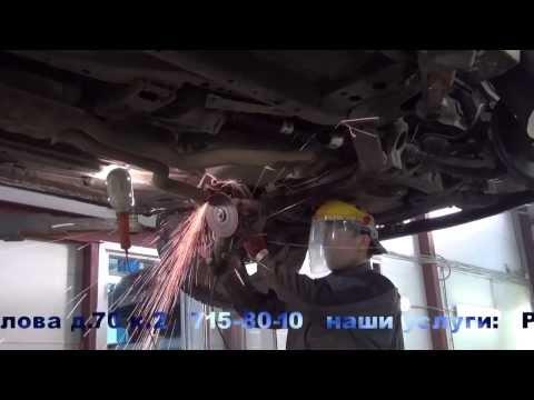 Ремонт катализаторов на авто Cadillac SRX4. Ремонт катализаторов в СПБ.