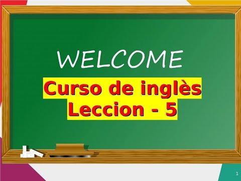 Curso de Ingles gratis  5. Nivel 1   Como hacer preguntas con el verbo to BE