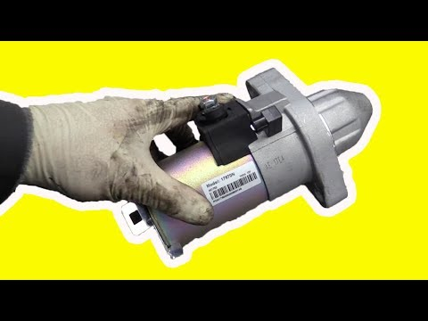 How To Replace a Honda K Series Starter the 'Easy' Way