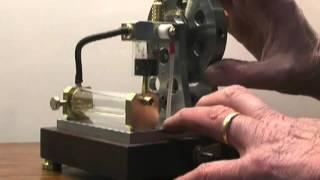 getlinkyoutube.com-1-Cylinder glass 4-stroke engine.wmv