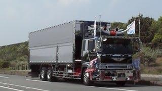 デコトラ アートトラック 由加丸 椎名急送 茨城AT連盟 2007