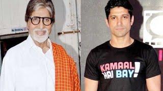 Big B, Farhan Akhtar Troubled by Mumbai Rains   Hot Bollywood News   Pratiksha, Water Logging,