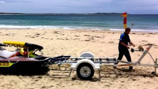 getlinkyoutube.com-Bold Trailers Customised Jet Ski Trailer For Sutherland Shire Council Lifeguards