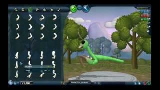 Spore Advanced Creature Creation