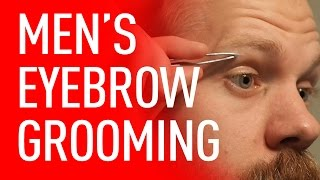 getlinkyoutube.com-Eyebrow Grooming For Men | Eric Bandholz