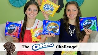 getlinkyoutube.com-The Oreo Challenge | Brooklyn and Bailey