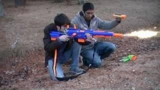 getlinkyoutube.com-Nerf Wars Episode 1: The Beginning