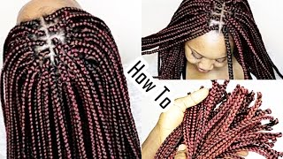 Crochet Box Braids Individual : Download video: Shake N Go Freetress Crochet Long MEDIUM Box Braids