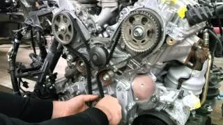 getlinkyoutube.com-SETTING UP TIMING BELT ON HONDA ACURA 3.2L 3.5L 3.7L J-SERIES ENGINE IN DETAILS!!!