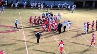 getlinkyoutube.com-high school football FIGHT legit!! FIELD GOAL VIEW AND PRESS BOX VIEW