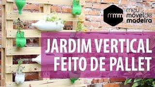 getlinkyoutube.com-Faça você mesma: um jardim vertical de Pallet!