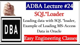 getlinkyoutube.com-SQL*Loader - Loading data with SQL *loader, Example of Loading MS-Access Data in Oracle