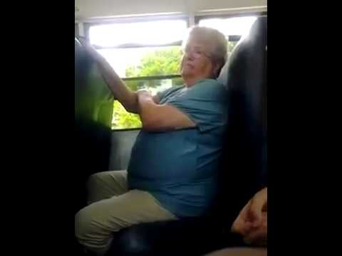 Kids torture bus monitor and make her cry.