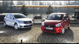 getlinkyoutube.com-Suzuki Celerio ou Dacia Sandero ? Comparatif complet - AutoMoto 2015