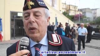 Manifestazione regionale Associazione Nazionale Carabinieri sezione di Cariati
