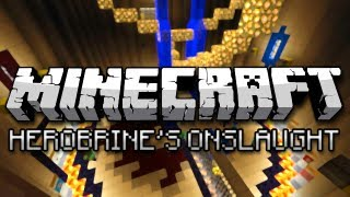 getlinkyoutube.com-Minecraft: Herobrine's Onslaught w/ Friends (Mini-Game)