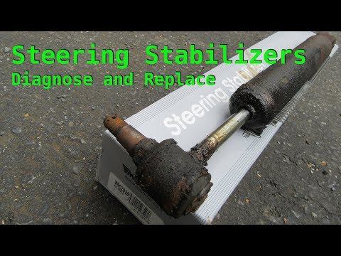 STEERING STABILIZER - Diagnose and Replace