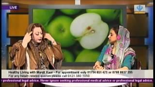 getlinkyoutube.com-Dr Manjit Kaur - Healthy Living Show  - Cholesterol