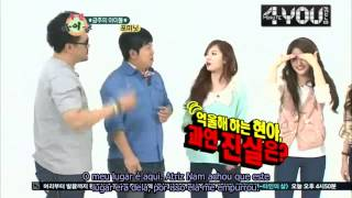 getlinkyoutube.com-4MINUTE & BtoB no Weekly Idol - LEGENDADO [1/2]