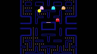 getlinkyoutube.com-Arcade Game: Pac-Man (1980 Namco (Midway License for US release))