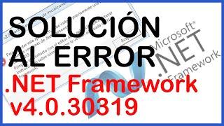 getlinkyoutube.com-Solución al Error de inicializacion de .NET Framework v4.0.30319