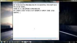 getlinkyoutube.com-NFS rivals E_INVALIDARG directx error