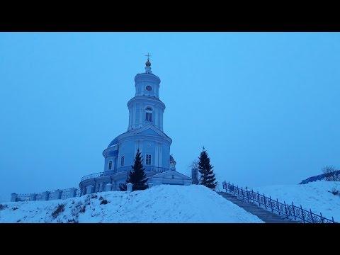 Едим выручать Газель Next! И заехали в храм в честь Казанской иконы Божьей Матери...