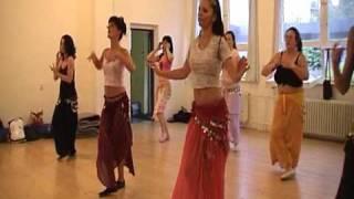 getlinkyoutube.com-Orientálne - brušné tance - Jamilah - TRÉNING - reklama